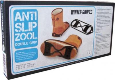 Anti Slip Zool L 41-46 Winter Grip Double Grip!