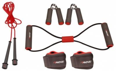 Fitness Set 6-delig Rood