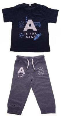 Baby joggingpakje Ajax blauw A is for Ajax 62/68
