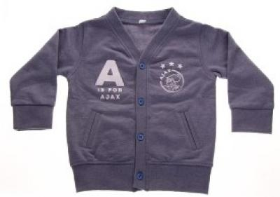 Baby vestje Ajax blauw A is for Ajax 65/68