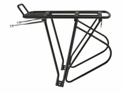 Cordo Aluminium Achterdrager Rear Carrier Black Lightweight