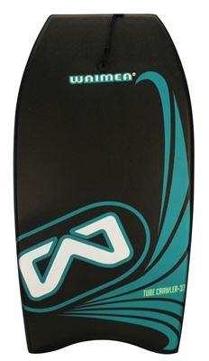 Bodyboard EPS Print Slick Board Antraciet
