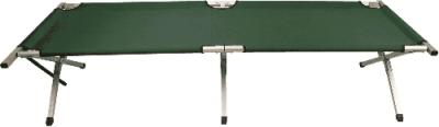 Camping bed stretcher de luxe green XL