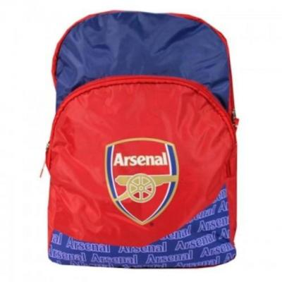 Arsenal Rugtas Two Zipper Rugzak 42x32x15cm
