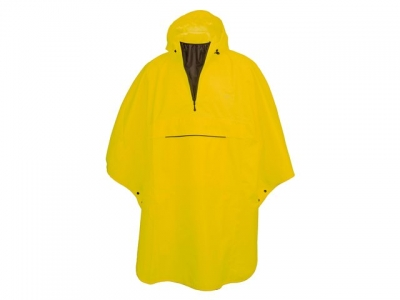 PONCHO GRANT GEEL ONE SIZE