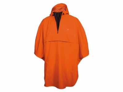 PONCHO GRANT ORANGE ONE SIZE