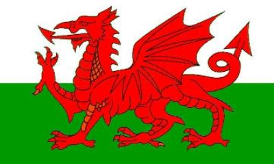 Vlag of Wales