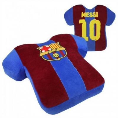 Barcelona Shirt Kussen Messi Velours Pillow 42x35 New!