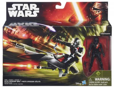 Action vehicle + fig Star Wars: Speeder Bike (B3918/B3917)