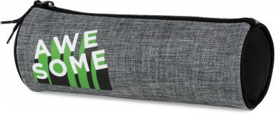 Etui Awesome Boys grey: 8x23x8 cm