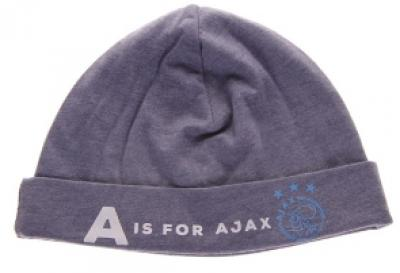 Baby muts ajax blauw: A is for Ajax maat OSFA