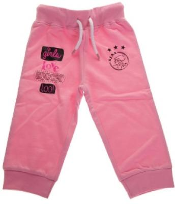 Baby pant ajax roze: girls love soccer maat 62/68