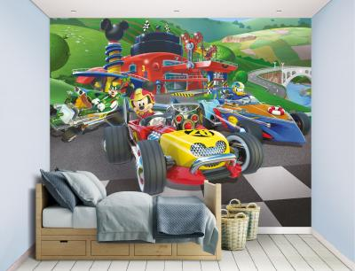 Behang Mickey Mouse Walltastic: 245x305 cm (45293)