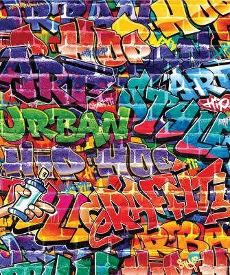 Behang graffiti Walltastic: 245x203 cm