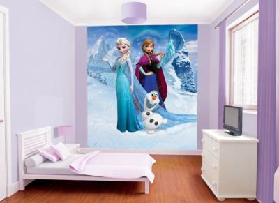 Behang Frozen Walltastic: 245x305 cm