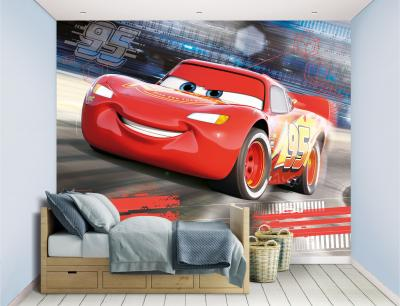 Behang Cars Walltastic: 245x305 cm