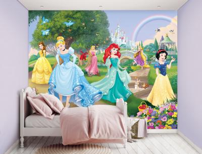 Behang Princess Walltastic: 245x305 cm