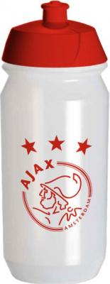 Bidon Ajax transparant logo: 500 ml