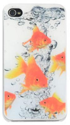 Hardcase Epoxy Dresz: iPhone 4/4S Fish