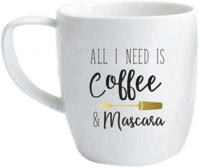 Mok Dresz: All I need is coffee & mascara (5001100001)