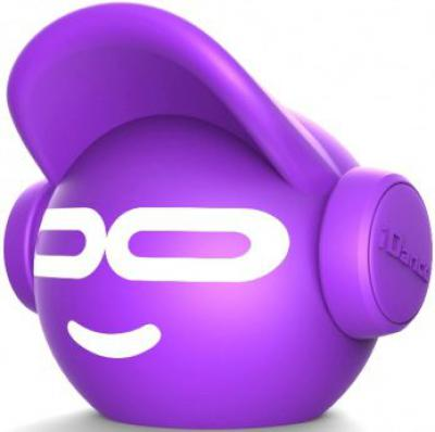 Beat Dude mini iDance BT Speaker: paars (IBDM-100-PURPLE)