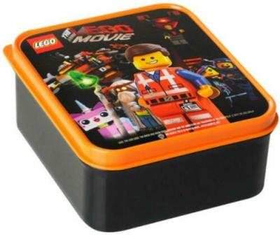 Lunchbox Lego Movie 400 ml Zwart (LACC700242)