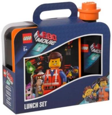 Lunchset Lego Movie Zwart