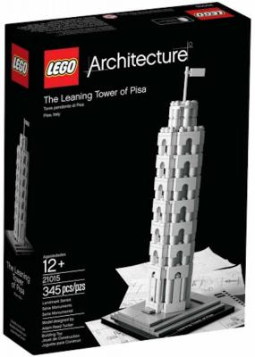 Architecture Lego 21015 The Leaning Tower of Pisa 345 Pieces New!