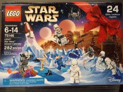 Adventskalender Star Wars Lego (75146)