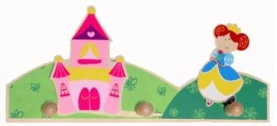 Kapstok: prinses Simply for Kids 29x12x3 cm
