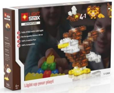 Adventure Light Stax: mix 140 stuks ass en kabel (LS-S12004)