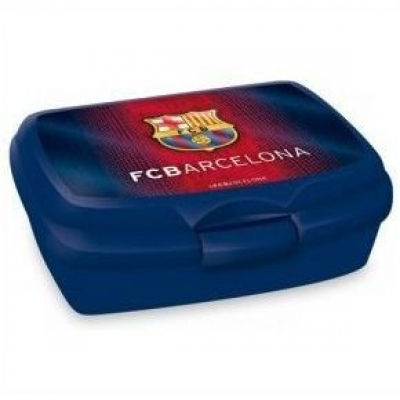Barcelona Lunchbox Broodtrommel Brotdose BoĂ®te à Lunch Blauw Blue New!