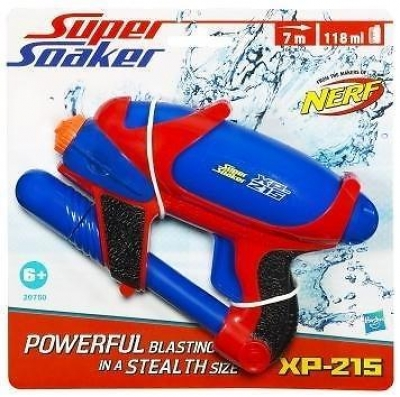 Super Soaker XP 215 Single Blauw Nerf