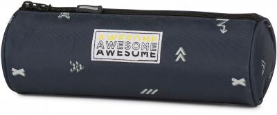 Etui Awesome Boys blue: 8x23x8 cm