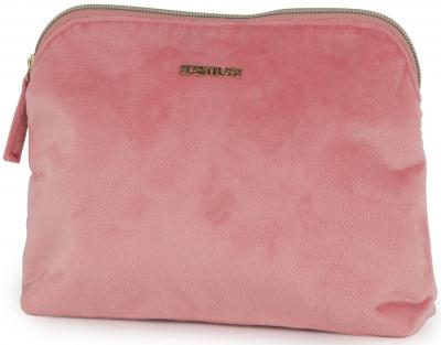 Make-up tas Supertrash pink: 23x17x4 cm (192STG832.35)