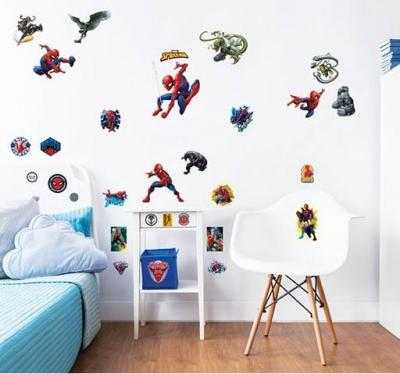 Muurstickers Kinderkamer Spiderman.U Wilt Muursticker Spider Man Walltastic 31 Stickers Kopen Deze