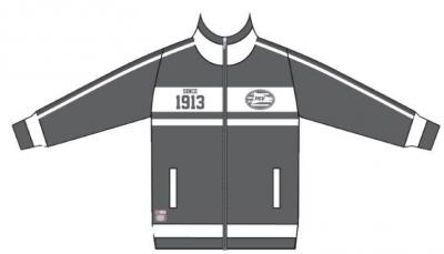 Track jacket psv antraciet: since 1913 maat M