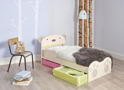 Bed Peuter Snuggle Beer: 143x77x70 cm