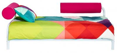 Bed Kind 3-in-1 Roze: 217x97x78 cm (458GBL01EM)